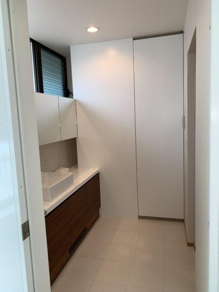ホテルのような洗面トイレ