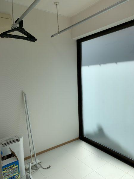 広々サンルーム防犯ガラス