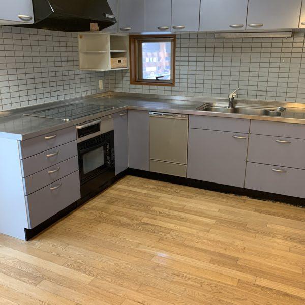 2700×2100大型システムキッチン
