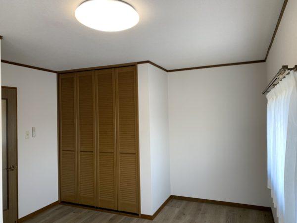 2階洋室8畳クローゼットつき!
