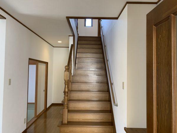 幅広階段で荷物の上げ下ろしも余裕!