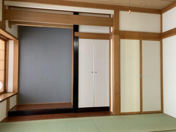 和室8畳 友達両親も泊まれる!