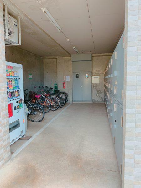 駐輪場バイク置き場