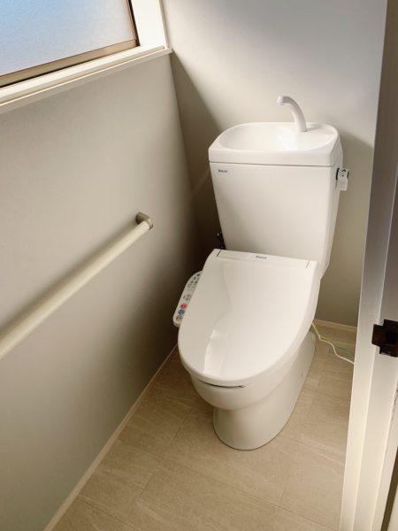 2階ウォシュレットトイレ新品